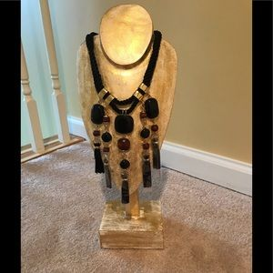 Chico's Bronson Bib Necklace